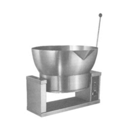 Market Forge R-1600-E 2081 16-gal Tilting Skillet, Power Switch & Thermostat, Stainless, 208/1 V