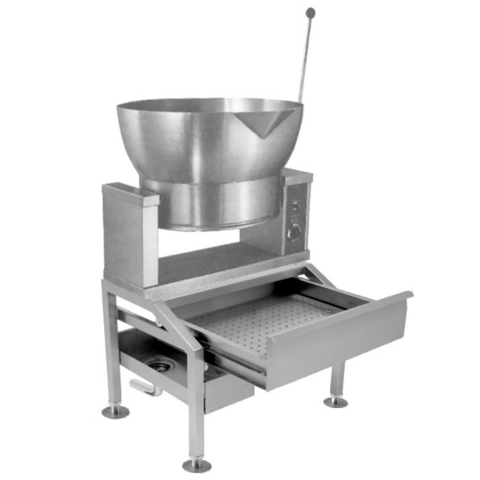Market Forge R-1600-E 2401 16-gal Tilting Skillet, Power Switch & Thermostat, Stainless, 240/1 V