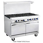 "Market Forge R-RG12-6 48"" 6-Burner Gas Range with Griddle, LP"