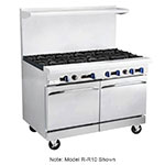 "Market Forge R-RG12-8 60"" 8-Burner Gas Range with Griddle, NG"