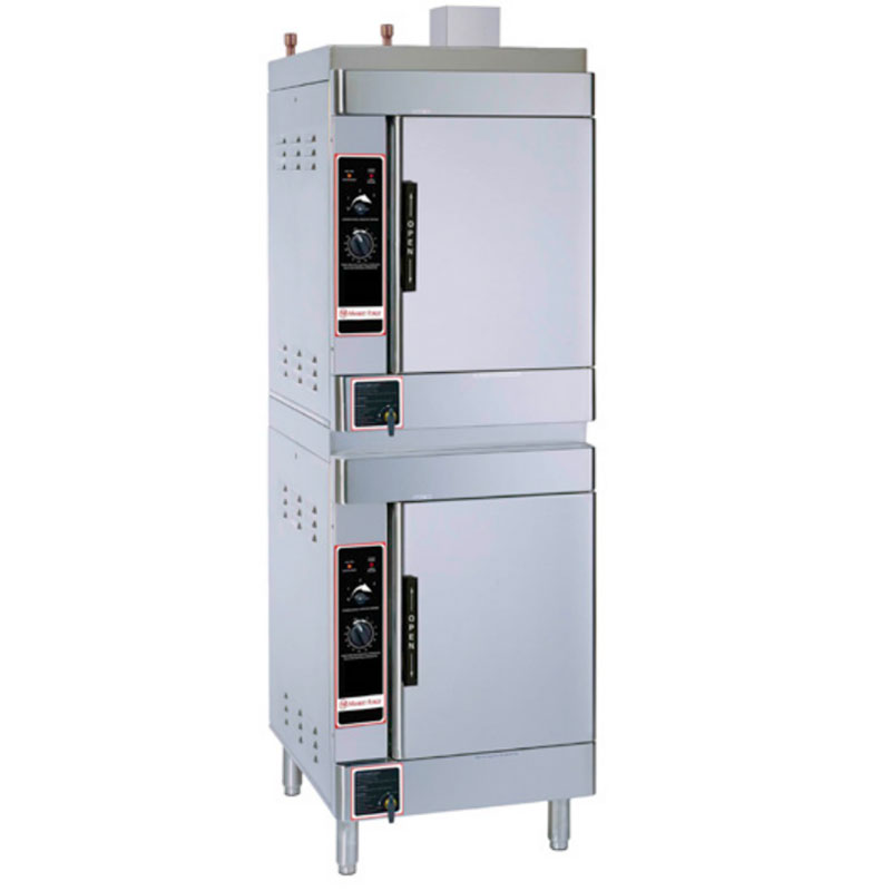 Market Forge SIRIUS II-12 Gas Floor Model Steamer w/ (12) Full Size Pan Capacity, NG