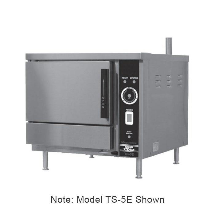 Market Forge TS-5E Electric Countertop Steamer w/ (5) Ful...