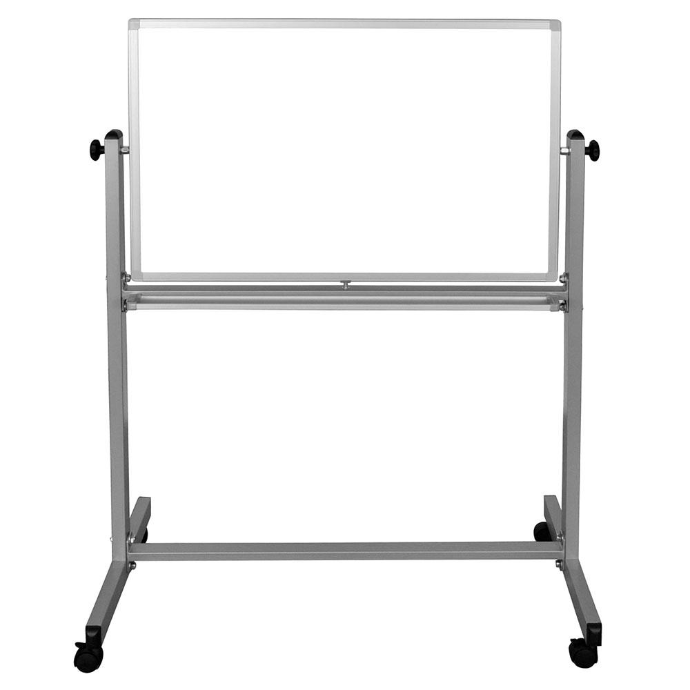 "Luxor Furniture MB3624WW Reversible Magnetic Whiteboard w/ Aluminum Frame, 36 x 24"""