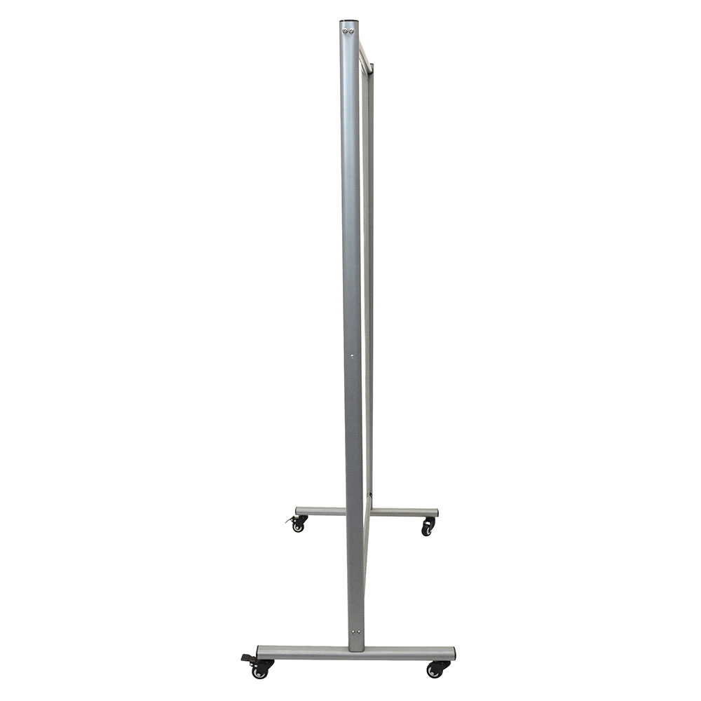 "Luxor Furniture MD4072W Reversible Whiteboard Room Divider w/ 2 Magnetic Sides, 39"" x 64"""