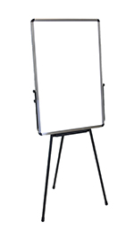 Luxor Furniture PB3040W Adjustable H00eight Whiteboard - Portable