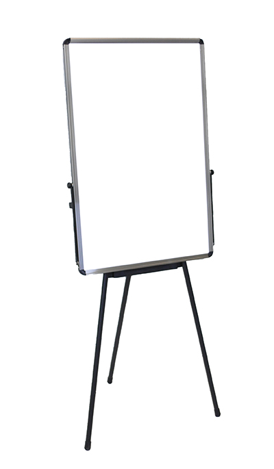 Luxor Furniture PB3040W Adjustable Height Whiteboard - Portable