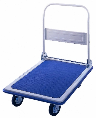 Luxor Furniture SPD140 Small Platform Dolly w/ Non-Skid Vinyl Deck & Stainless Frame, 400-lb Capacity