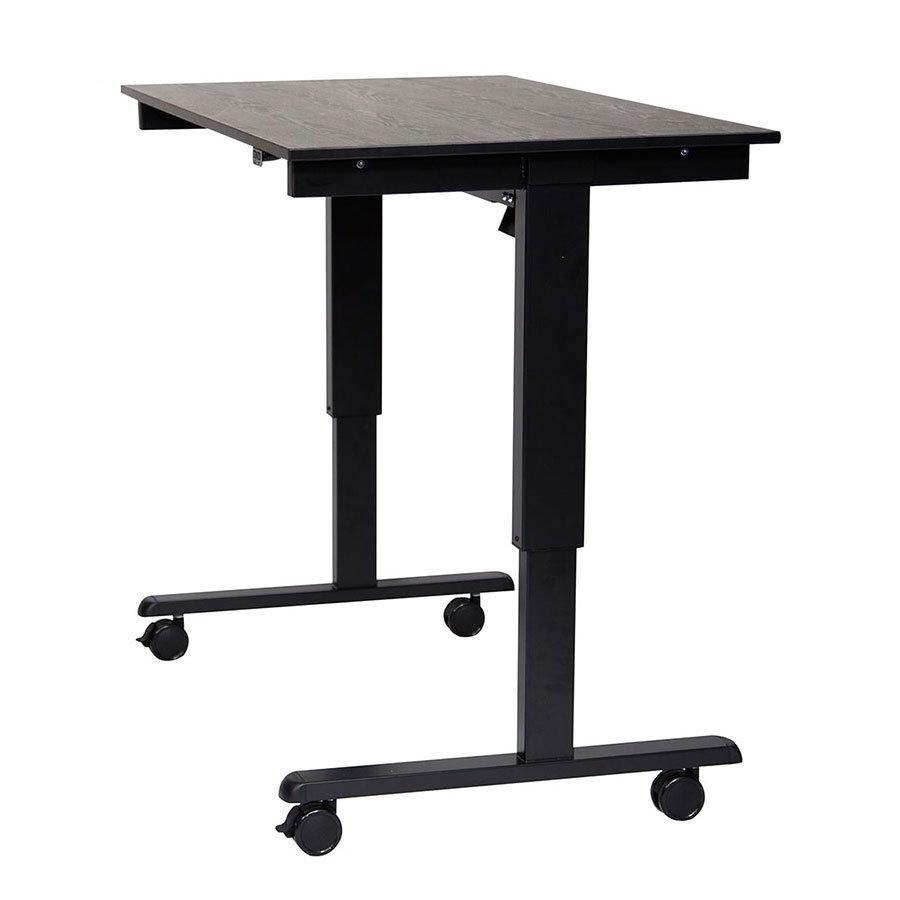"Luxor Furniture STANDE 48 BK BO 48"" Electric Standing Desk"