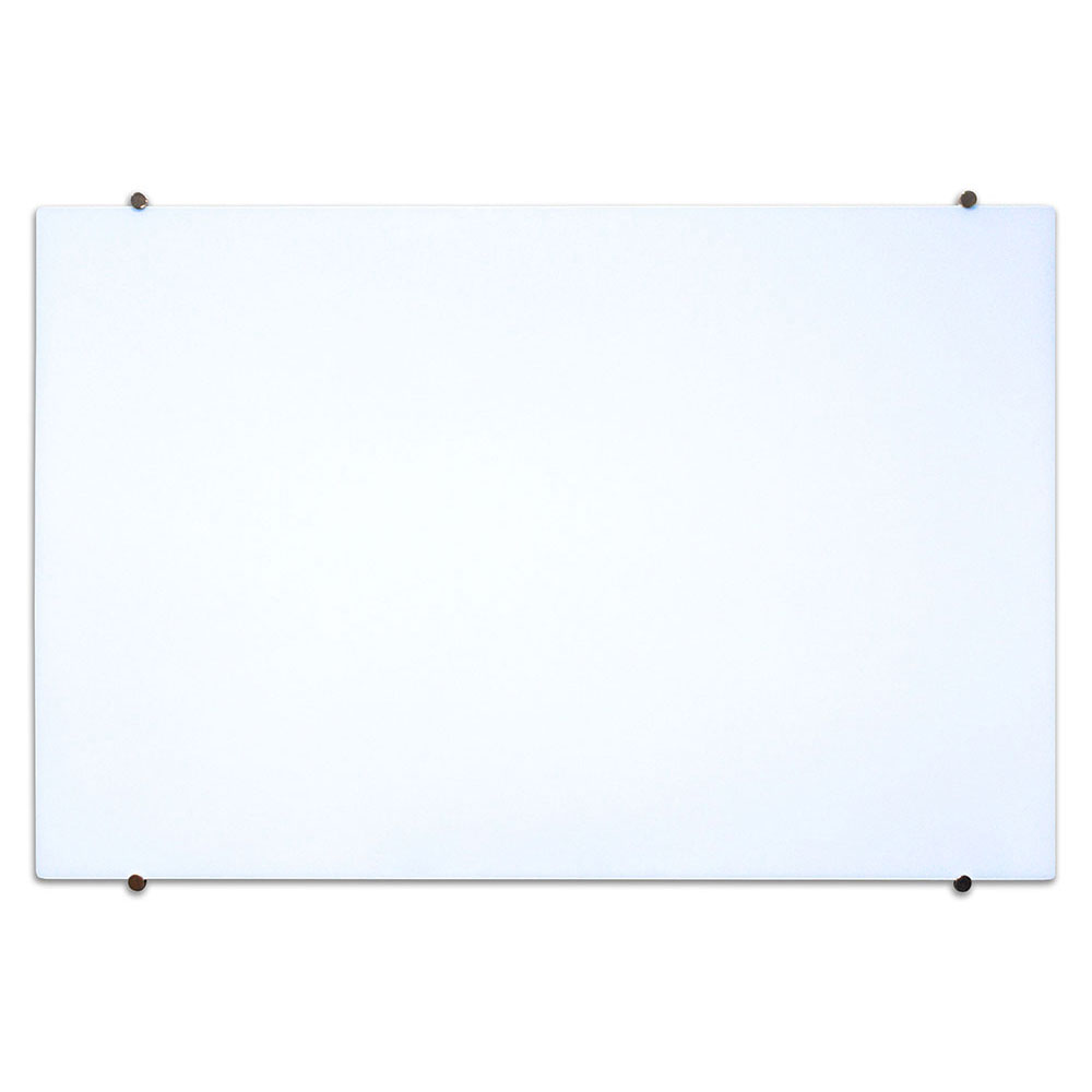 luxor WGB4030M 40 x 30 Wall-Mounted Glass Board w/ Mounti...