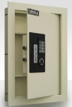 Mesa MAWS2113E Wall Safe - All Steel, Electronic Lock, 15x22""