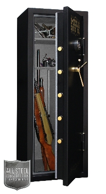 Mesa MBF5922E Burglary/Fire Gun Safe - All Steel, Electronic Lock, 7.9 cu ft,  Black