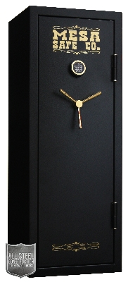 Mesa MBF5922E-P Burglary/Fire Safe - All Steel, Electronic Lock, 7.6 cu ft, Black