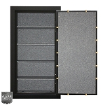 Mesa MBF6032C-P Burglary Safe w/ 4 Shelves & Combination Lock, 14-cu ft, Black