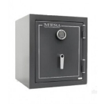 Mesa MBF1512EHGRY Burglary/Fire Safe - All Steel, Electronic Lock, 1.7 cu ft, Hammered Gray