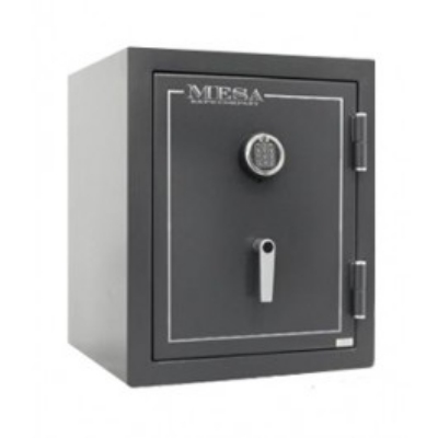 Mesa MBF2020E Burglary/Fire Safe - All Steel, Electronic Lock, 3.3 cu ft, Hammered Gray