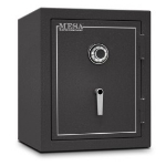 Mesa MBF2620C Burglary Safe, 26.5-in, Combination, 4-cu ft, Hammered Grey