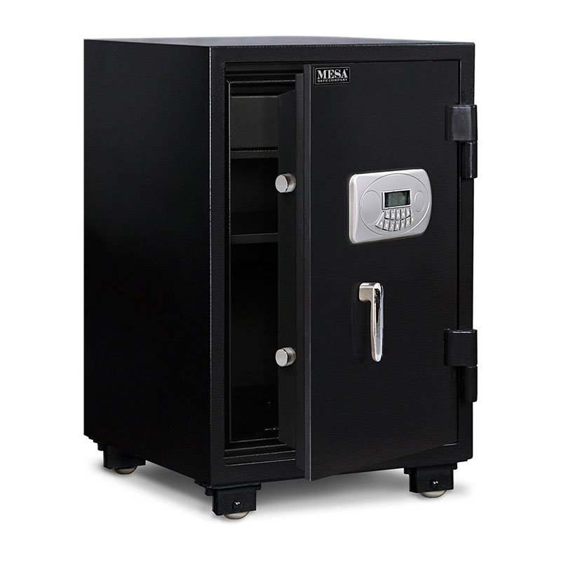 Mesa MF75E-BLK Fire Safe - UL Classified, All Steel, Electronic Lock, 2.1 cu ft