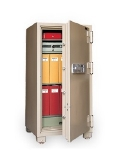 Mesa Safe MFS 140E TAN Fire Safe - 2-Hour, All Steel, Electronic Lock, 8.5 cu ft, Tan