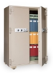 Mesa Safe MFS 170DDE TAN Fire Safe - 2-Hour, All Steel, Electronic Lock, 20.7 cu ft, Tan