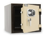 Mesa Safe MFS-55ETANBRN UL Fire Safe, 19.5-in, Class 350/1-Hour, 1.5-cu ft, Tan Brown