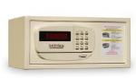 Mesa MH101 CRM Hotel Safe, 7 x 15 x 10-in, Capacity 0.4-cu ft, Cream