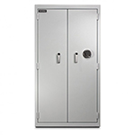 Mesa MRX1000E Pharmacy Safe, Solid Double Door, Advanced Electronic Lock, White