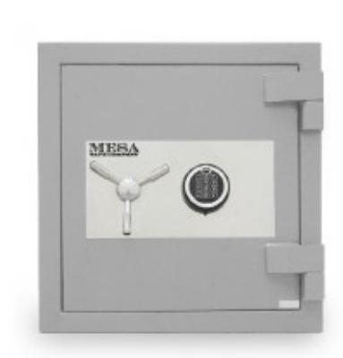 Mesa 2.4 cu. ft. All Steel High Security Burglary Fire Safe with Electronic Lock, Silver