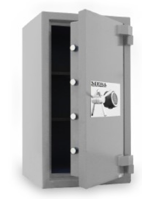 Mesa MSC3820C High Security Safe, 5.0-cu ft Interior, Combination Lock, Silver