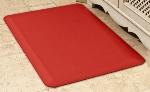 Wellness Mats 32SC104A Solid Pattern Decorative Mat Cover, 3 x 2-ft, Hearth