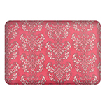 Wellness Mats P32SC186HK Seasons Cover for Wellness Mat w/ Non-Slip Bottom, Machine Washable, Marquis Coral