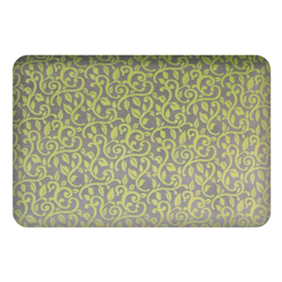Wellness Mats P32SC192HK Seasons Cover for Wellness Mat w/ Non-Slip Bottom, Machine Washable, Arbor Oliva