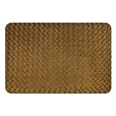 Wellness Mats P32SC204HV Seasons Cover for Wellness Mat w/ Non-Slip Bottom, Gelato Cappuccino