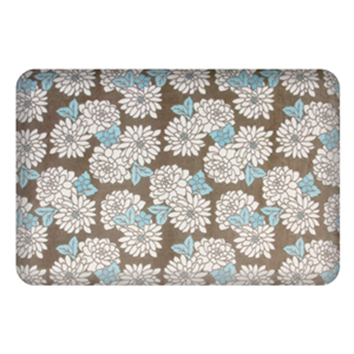 Wellness Mats P32SC215HK Seasons Cover for Wellness Mat w/ Non-Slip Bottom, Machine Washable, Mums Marina