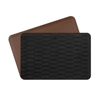 Wellness Mats P32WMRBRN211HV Wellness Mat & Season Cover Combo w/ No-Trip Edge, Sable Anise