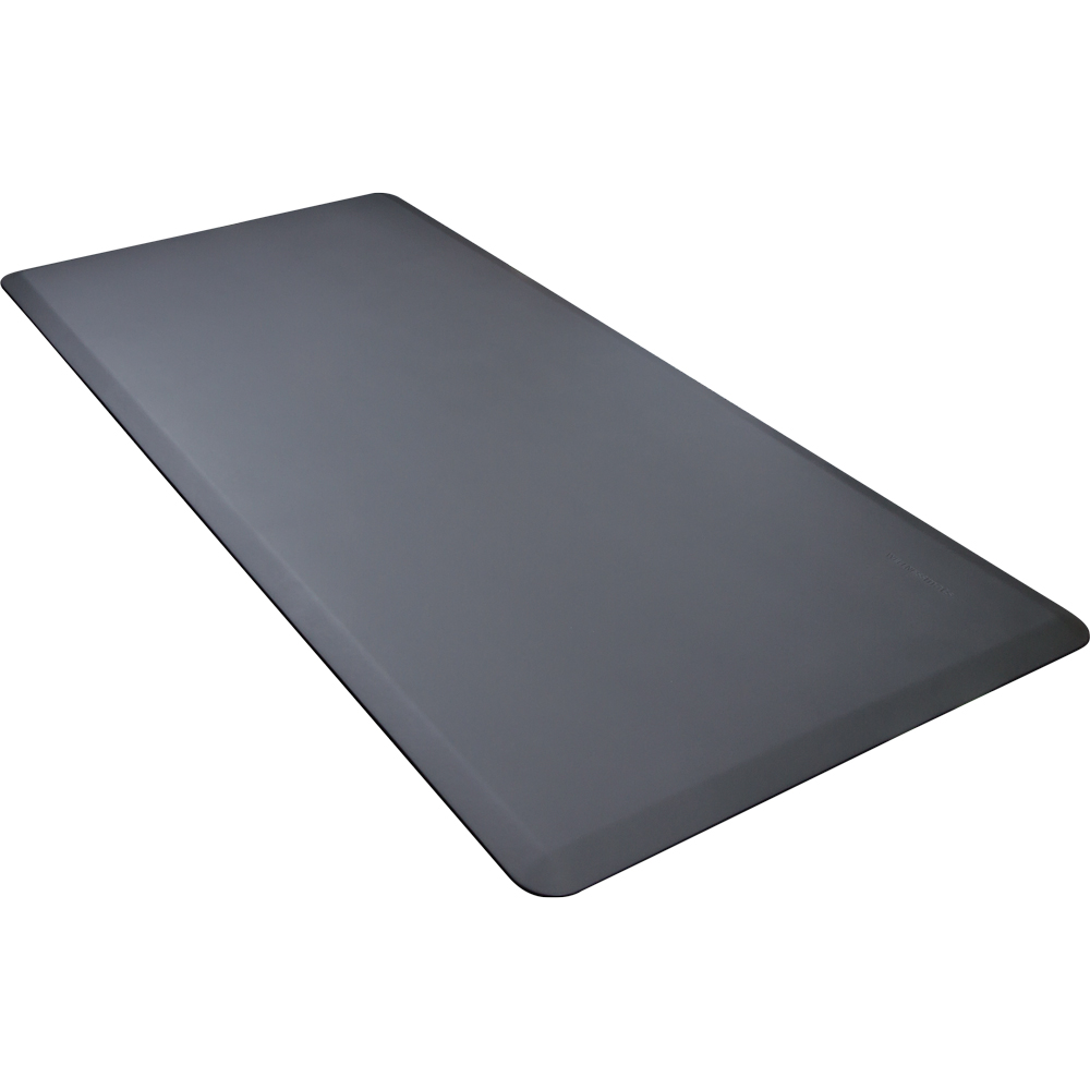 Wellness Mats 63WMRGRY High Comfort Mat, 6 x 3-ft, (APT) Poly, No-Slip, Gray