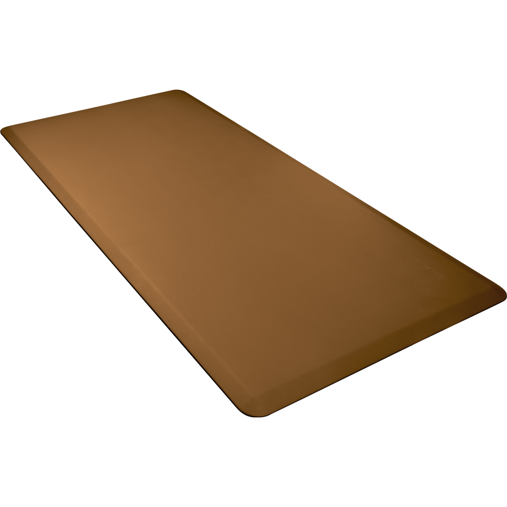Wellness Mats 63WMRTAN High Comfort Mat, 6 x 3-ft, (APT) Poly, No-Slip, Tan