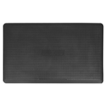 Wellness Mats MXR35BLK Maxum Mat w/ No-Trip Beveled Edge & Non-Slip Material, 5x3-ft, Black