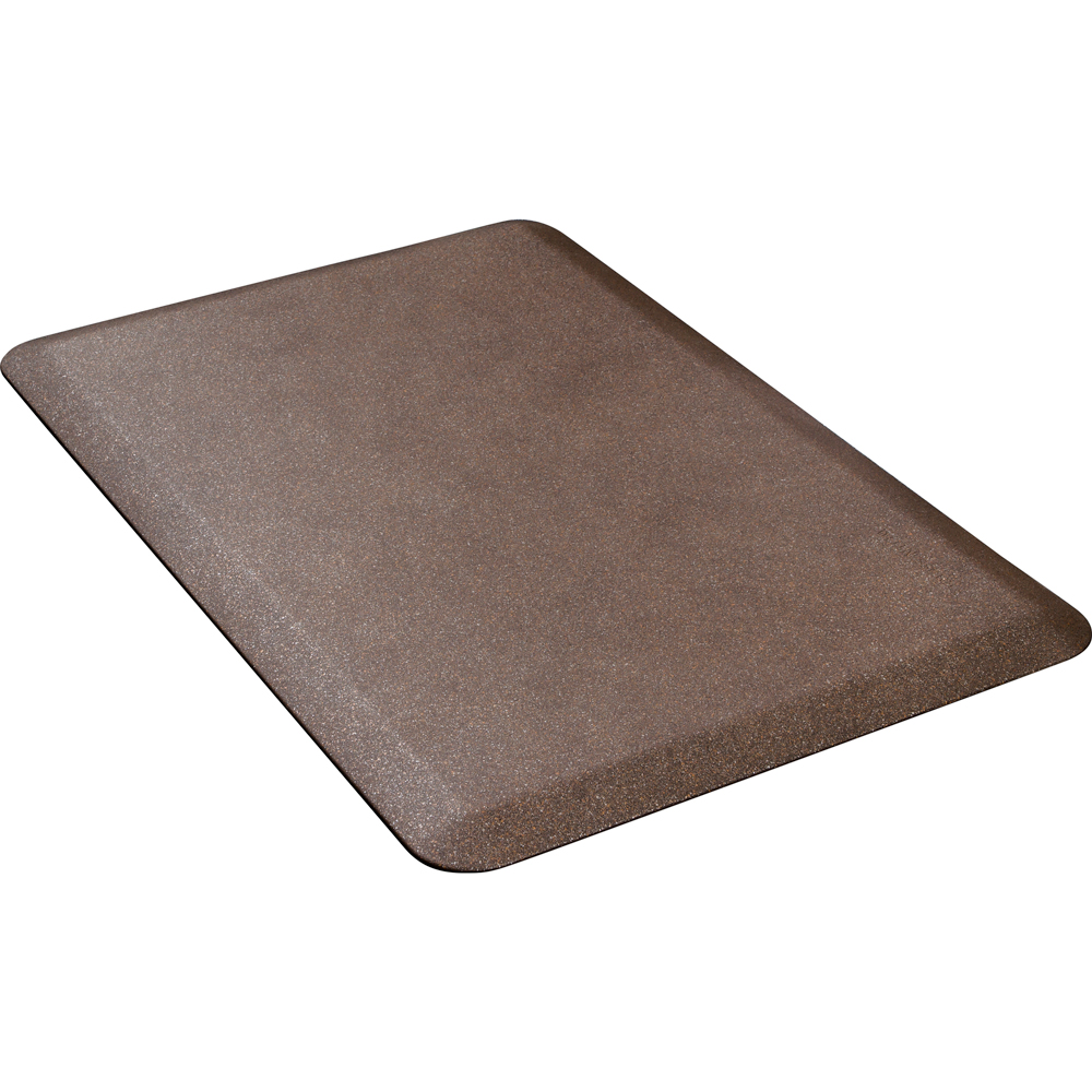 Wellness Mats P32WMRGC Wellness Mat w/ No-Trip Beveled Edge & Non-Slip Material, 3x2-ft, Granite Copper
