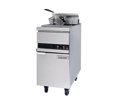 Anets 14EL14 Electric Fryer - (1) 50-lb Vat, Floor Model, 208v/3ph
