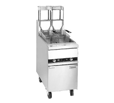 Anets 18AAF Gas Fryer - (1) 100-lb Vat, Floor Model, LP