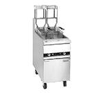 Anets 18AAF Gas Fryer - (1) 100-lb Vat, Floor Model, NG