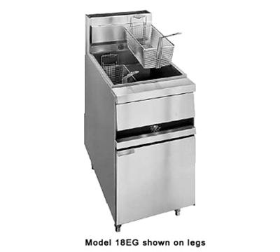 Anets 18EG Gas Fryer - (1) 100-lb Vat, Floor Model, NG