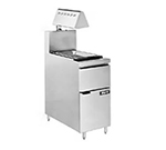 Anets FRICRISP14HL 14-in Fri-Crisp Station, Fryer Match Design w/ Heat Lamp, Pan & Screen