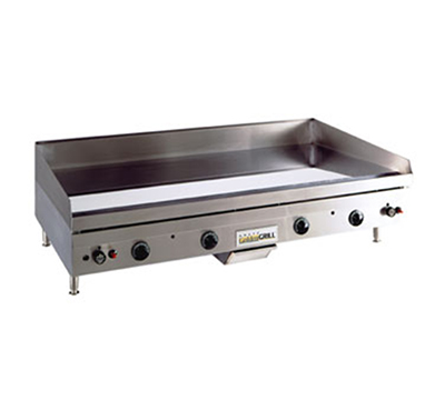 Anets A24X48GCZ NG Griddle w/ Zone & .75-in Chrome Steel Plate, Snap Action, 48 x 24-in, NG