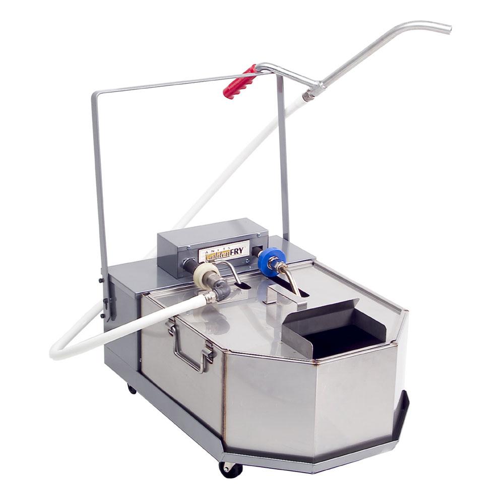Anets FFM80 80-lb Commercial Fryer Filter - Gravity, 120v