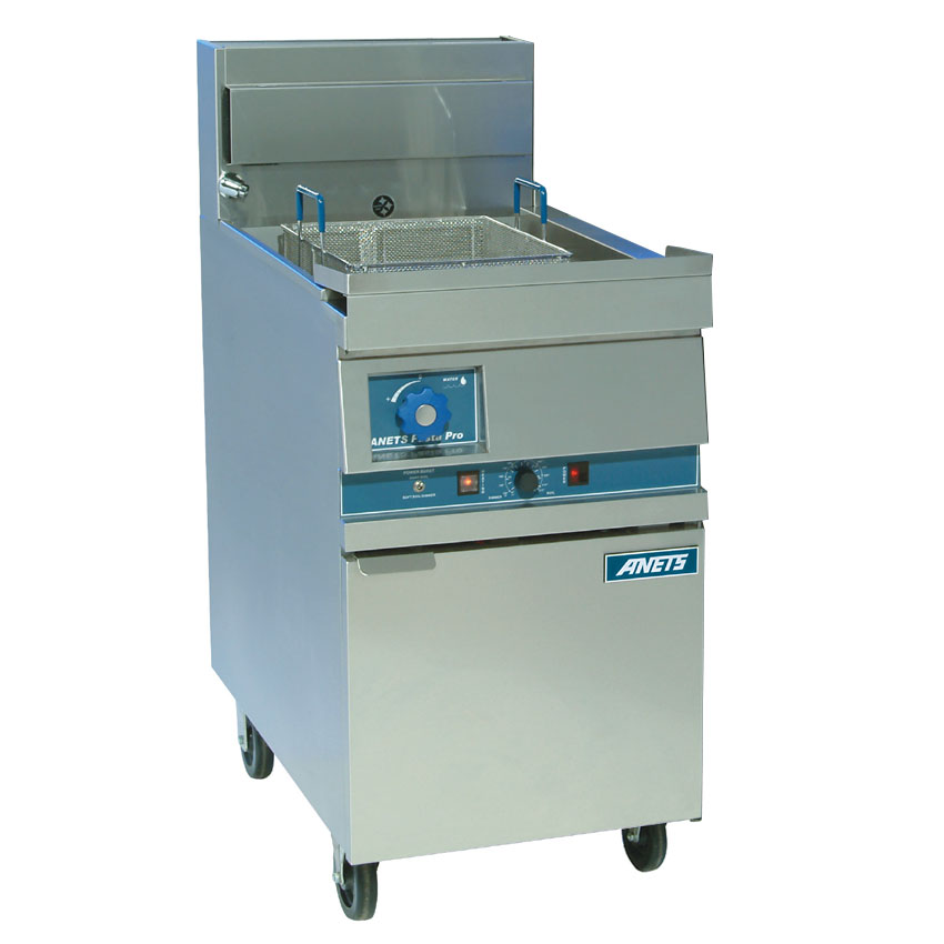 """Anets GPC18 LP 18"""" Pasta Cooker, Single Tank, w/ Lift-Off Basket Hanger & Solid State, LP"""