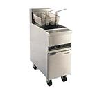 Anets MX14EXAAF Gas Fryer - (1) 50-lb Vat, Floor Model, LP