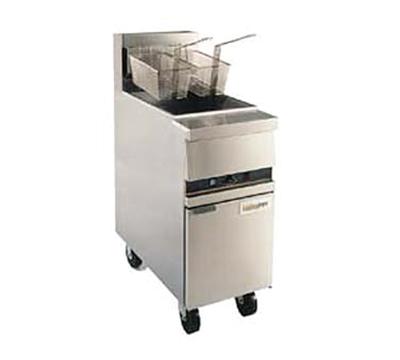 Anets MX14EXF Gas Fryer - (1) 50-lb Vat, Floor Model, NG