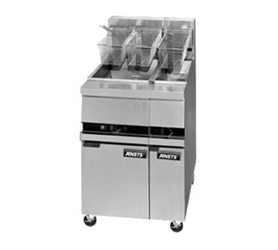 Anets MX7A Gas Fryer - (1) 25-lb Vat, Floor Model, NG