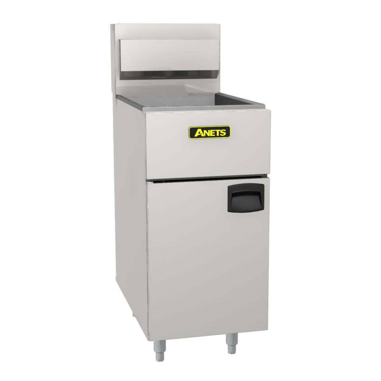 Anets SLG40 Gas Fryer - (1) 50-lb Vat, Floor Model, NG